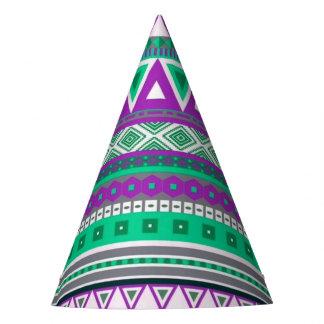 modelo tribal de lujo de la frontera 08 (i) gorro de fiesta