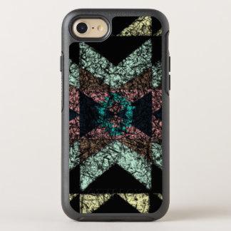 modelo tribal Hacia fuera-gastado Funda OtterBox Symmetry Para iPhone 8/7