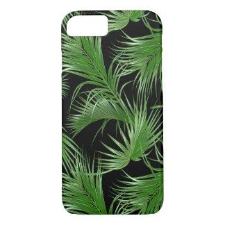 Modelo tropical de las frondas de la palma funda para iPhone 8/7
