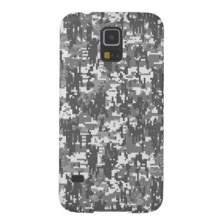 Modelo urbano de Digitaces Camo del carbón de leña Carcasa Galaxy S5
