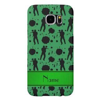Modelo verde conocido personalizado de Paintball Funda Samsung Galaxy S6