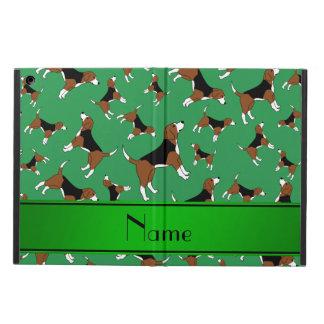 Modelo verde conocido personalizado del perro del