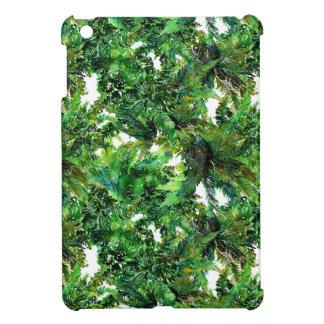 Modelo verde de la caída del bosque del helecho de