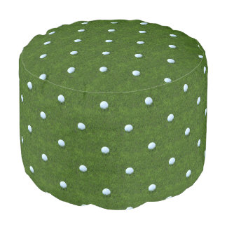 Modelo verde de la pelota de golf de Polkadot Puf