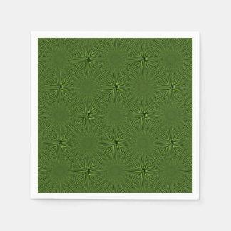 Modelo verde servilletas desechables
