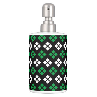 Modelo verde y blanco de Kelly moderno de Argyle Set De Baño