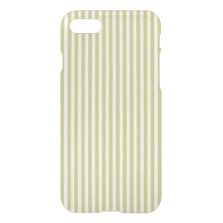 Modelo verde y blanco del helecho suave de la funda para iPhone 8/7