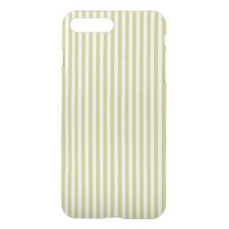 Modelo verde y blanco del helecho suave de la funda para iPhone 8 plus/7 plus