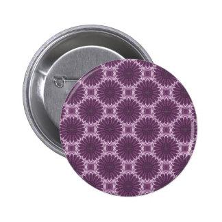 Modelo violeta 1 del arte de los pétalos - botón