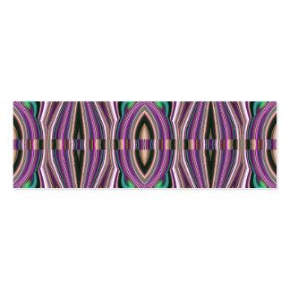Modelo violeta púrpura del Azteca del bosquejo Plantillas De Tarjetas Personales