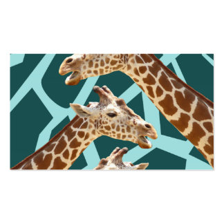 Modelos azules del animal salvaje del trullo diver tarjeta de visita
