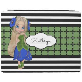 Modelos bonitos del chica w/Modern Cubierta De iPad
