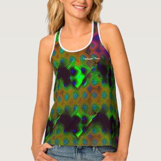 Modelos coloridos camiseta de tirantes