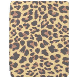 Modelos de la piel animal del estampado leopardo cubierta de iPad