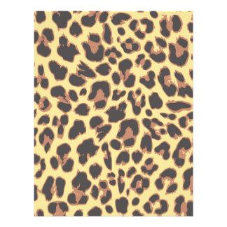 Modelos de la piel animal del estampado leopardo flyer