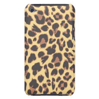 Modelos de la piel animal del estampado leopardo funda para iPod de Case-Mate
