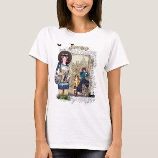 Modelos de moda de moda camiseta