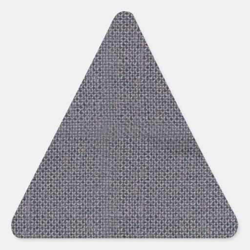 Modelos del vintage de la arpillera de la lona pegatina de trianguladas