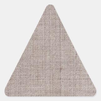 Modelos del vintage de la arpillera de la lona pegatina triangular
