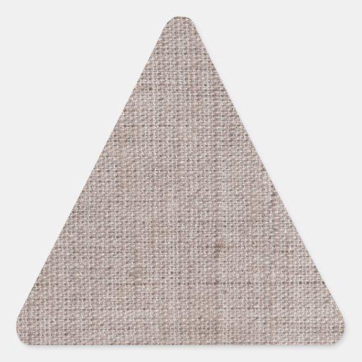 Modelos del vintage de la arpillera de la lona calcomanía trianguloada