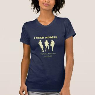 Modelos femeninos brasileños camisetas