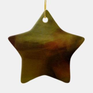 Modelos marrones de papelucho con Farbverlauf Adorno Navideño De Cerámica En Forma De Estrella