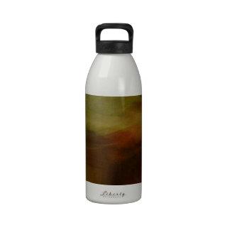 Modelos marrones de papelucho con Farbverlauf Botellas De Agua Reutilizables