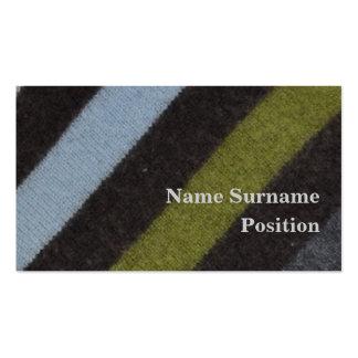 Crea tu propia tarjeta de visita y personalízala con tus colores, diseños y estilos favoritos.