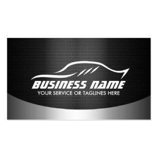 Moderno profesional automotriz de la reparación tarjetas de visita