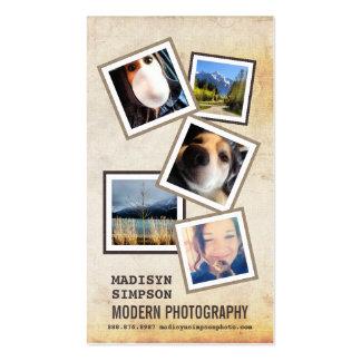 ModernPhotographer con 5 fotos de la muestra Tarjetas De Visita