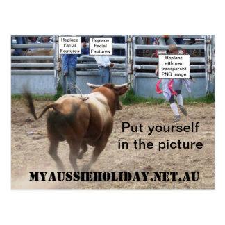 """Modifique la postal de """"Bull para requisitos"""