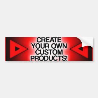 Modifique/personalice/cree sus los propios para pegatina para coche