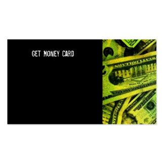 Modifique su para requisitos particulares consigue tarjetas de visita