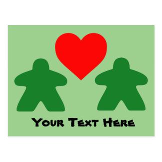 Modifique su postal del amor para requisitos