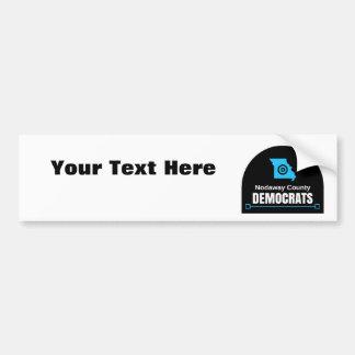 Modifique su propio mensaje para requisitos pegatina para coche