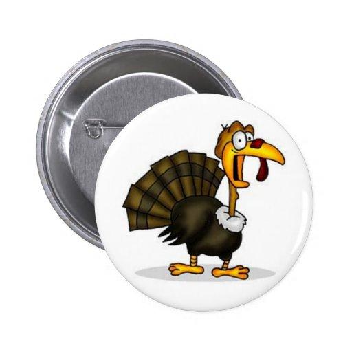 [Modifiqúelo] acción de gracias Turquía Pin