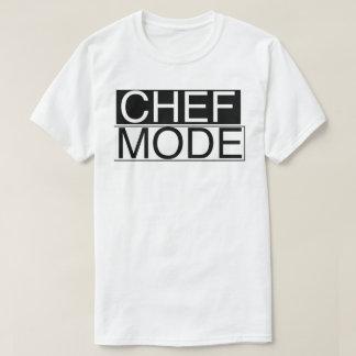 Modo del cocinero camiseta