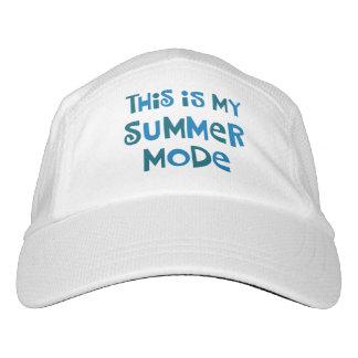 Modo del verano gorra de alto rendimiento
