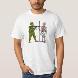 Mohandas Gandhi contra violencia y el empleo Camiseta