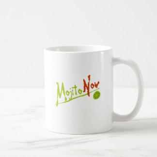 Mojito ahora taza básica blanca