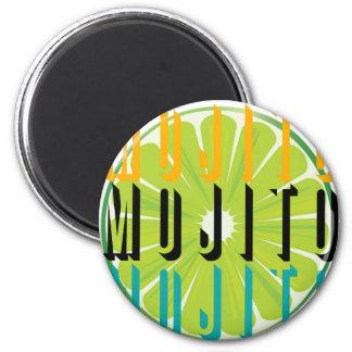 Mojito Colors Refrigerator Magnet