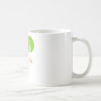 Mojito piensa un momento en placer taza básica blanca