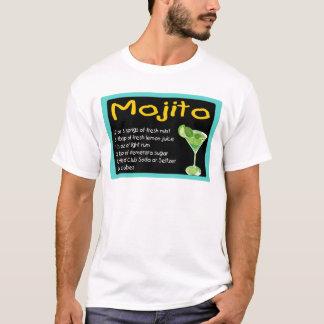 Mojito Recipe Camiseta