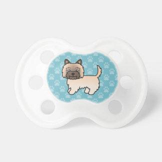 Mojón de trigo Terrier del dibujo animado lindo Chupetes Para Bebés