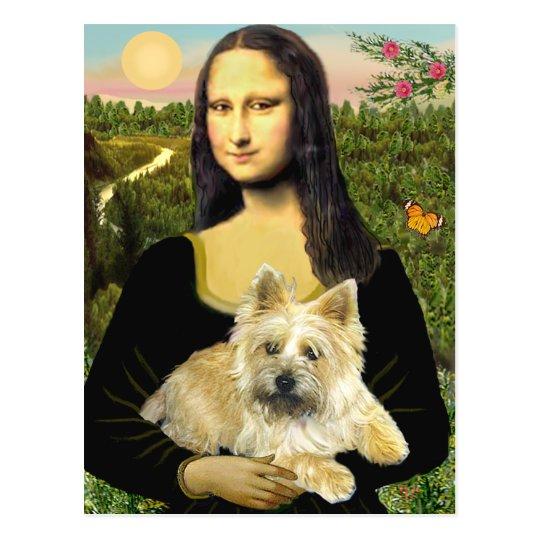 Mojón Terrier 23 - Mona Lisa Postal