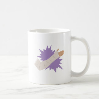 Molde del brazo taza de café
