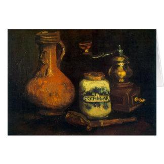 Molino de café de Vincent van Gogh Tarjeta Pequeña
