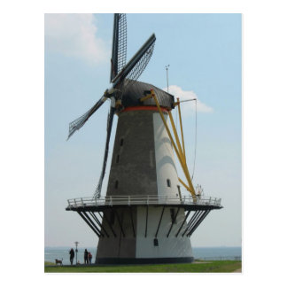 Molino de viento de Holanda en Zelanda, los Países Postal