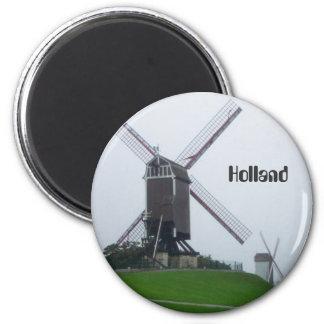 Molino de viento de Holanda Imán