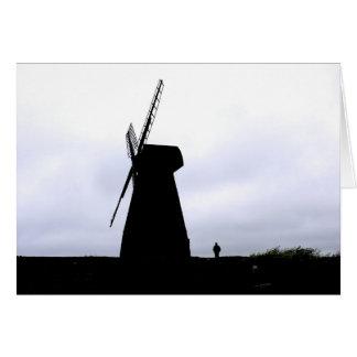 Molino de viento de Rottingdean Tarjeta